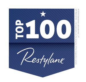 Restylane Top 100 Badge PNG